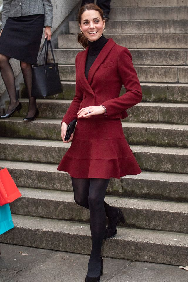 Kate Middleton skirt outfit