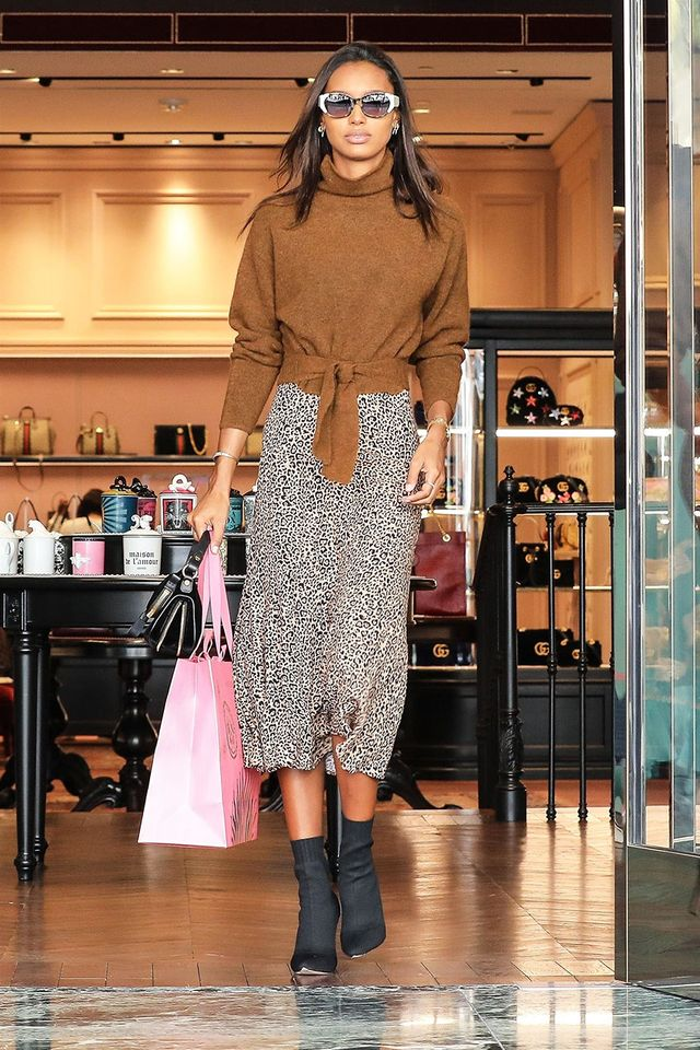 Sock Boot Trend: Jasmine Tookes