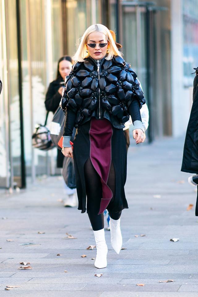 Sock Boot Trend: Rita Ora