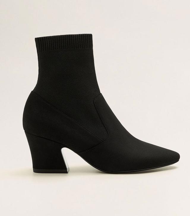 Mango Heeled Sock Boots