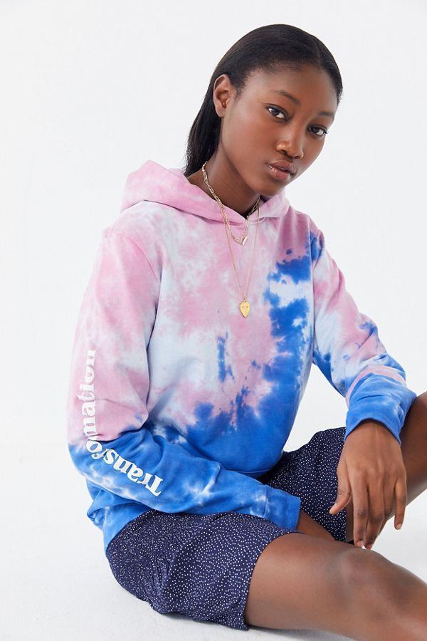 Transformation Tie-Dye Hoodie Sweatshirt