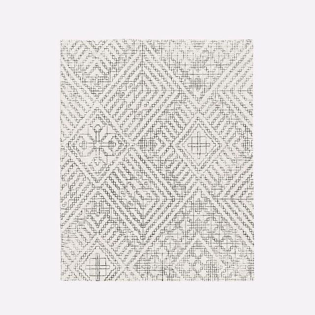 West Elm Stone Tile Rug