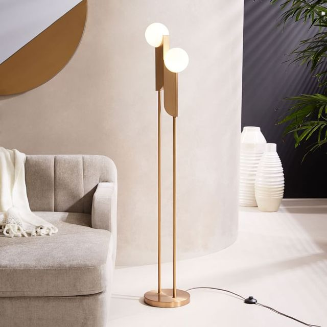 West Elm Bower Floor Lamp