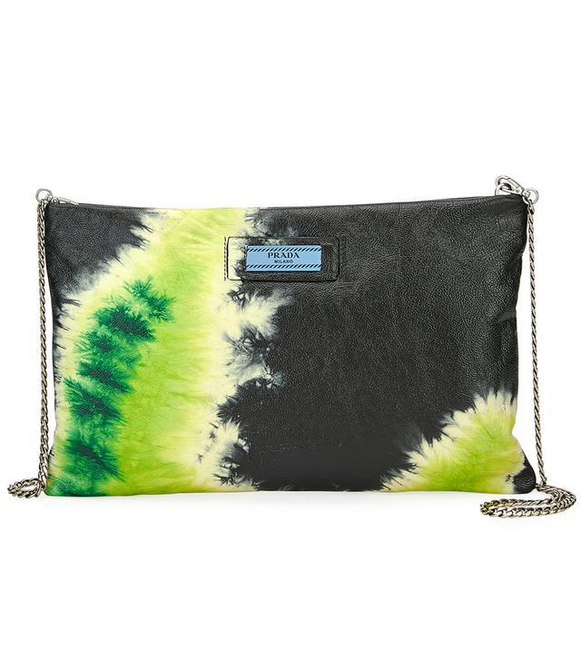 Prada Glace Tie-Dye Calf Crossbody Bag