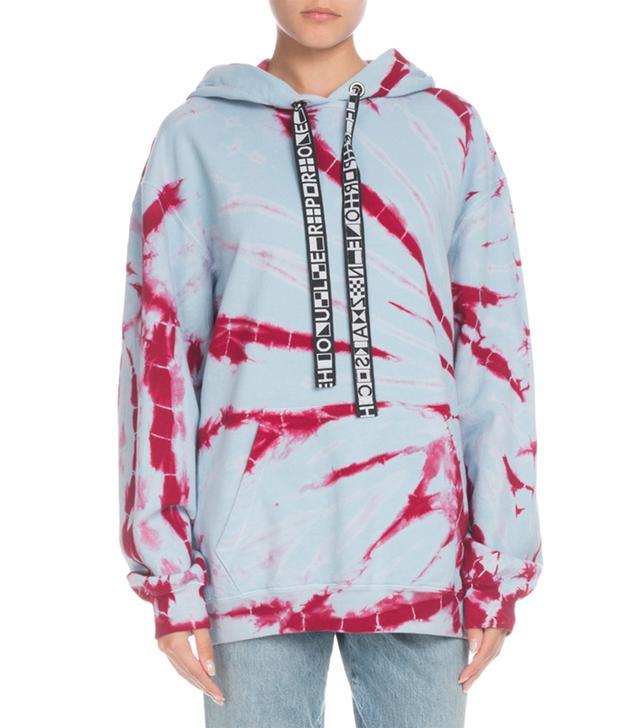 PSWL Hooded Tie-Dye Pullover Sweatshirt