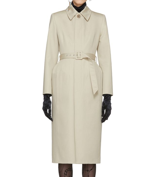 Balenciaga Skirt Trench Coat