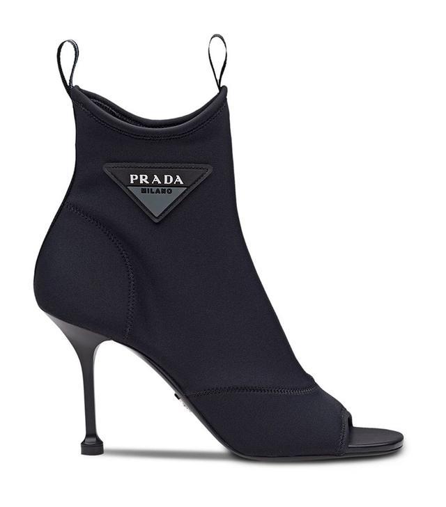 Prada Open-Toe Boots