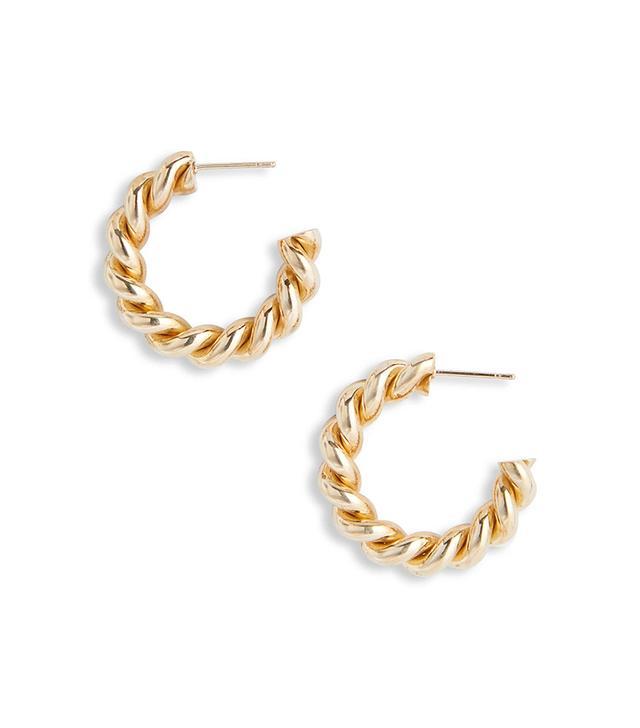 Laura Lombardi Mella Hoop Earrings