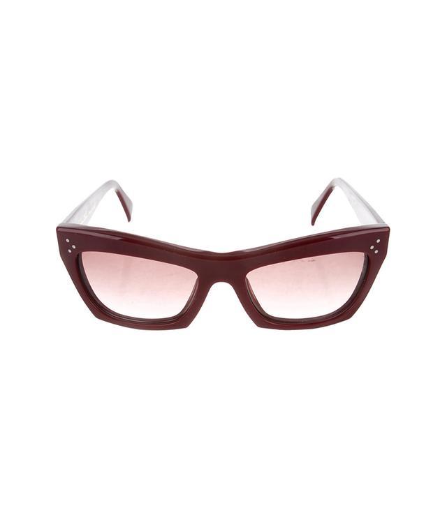 Céline Tinted Square Sunglasses
