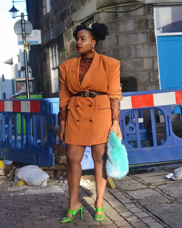 Going-Out Outfits: Blazer Dress