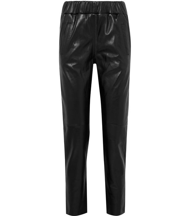 Stand Noni Leather Track Pants