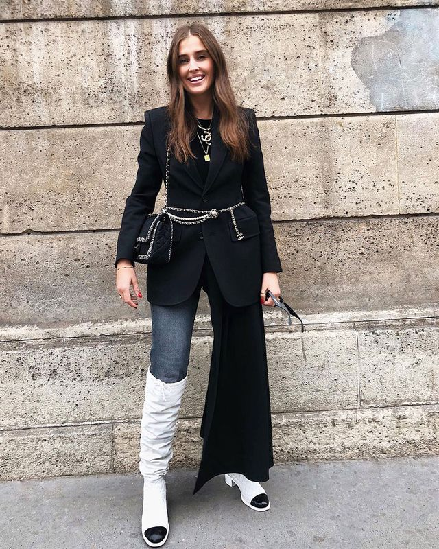 What to Wear With Skinny Jeans: Knee-High Boots