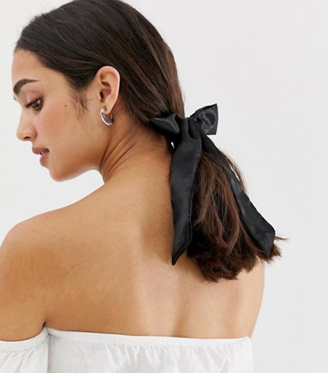 ASOS Polysatin Bow Hairband