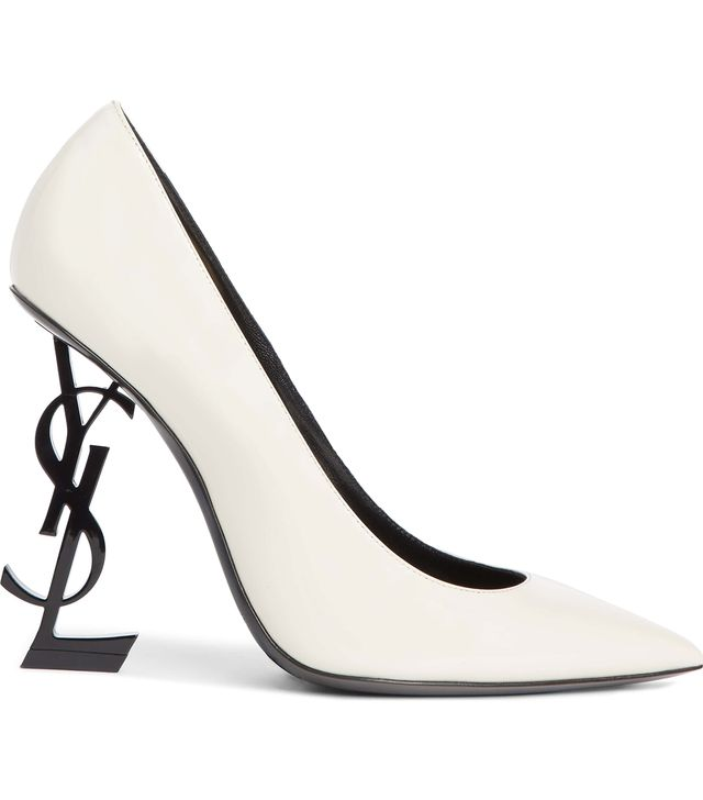Saint Laurent Opyum YSL Pointy Toe Pump