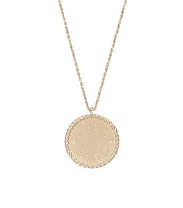 Ariel Gordon Imperial Disc Pendant Necklace