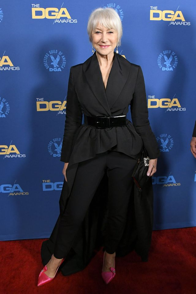Helen Mirren at the 2019 Director's Guild Awards