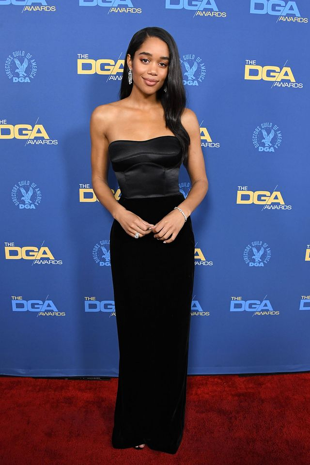 Laura Harrier at the 2019 Director's Guild Awards