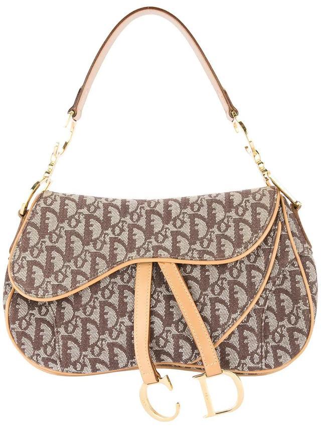 Christian Dior Trotter Saddle Hand Bag