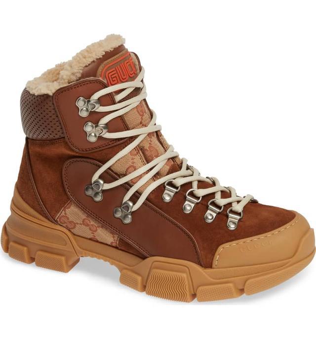 Gucci Flashtrek Genuine Shearling Boot