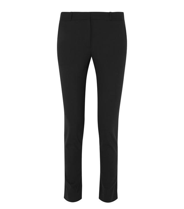 The Row Franklin Wool-Blend Slim-Leg Pants