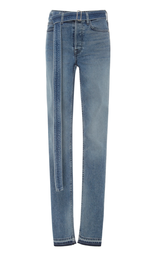 Cotton Citizen Belted High-Rise Jeans