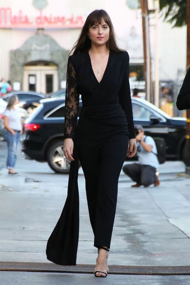 Dakota Johnson Shoe Capsule Wardrobe: Strappy Sandals