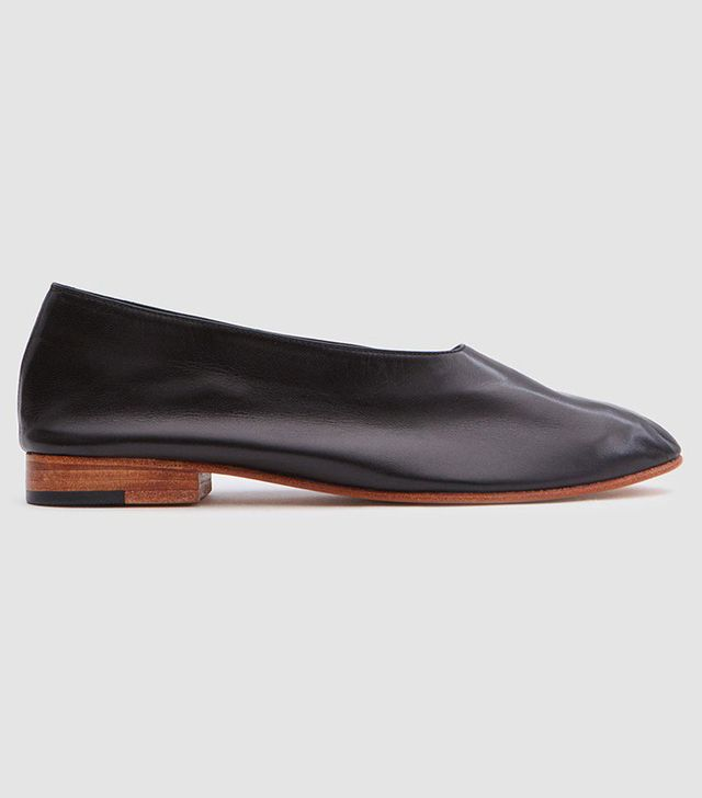 Martiniano Glove Shoe in Black