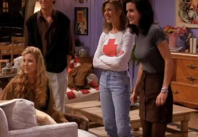 Vintage Straight Leg Jeans Jennifer Aniston Wore In Friends