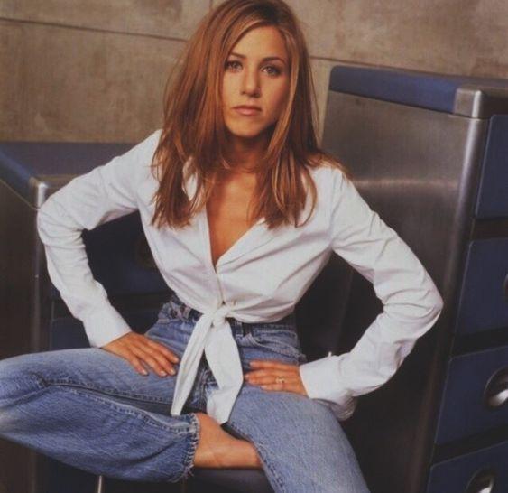 Jeans Inspiration From Jennifer Aniston