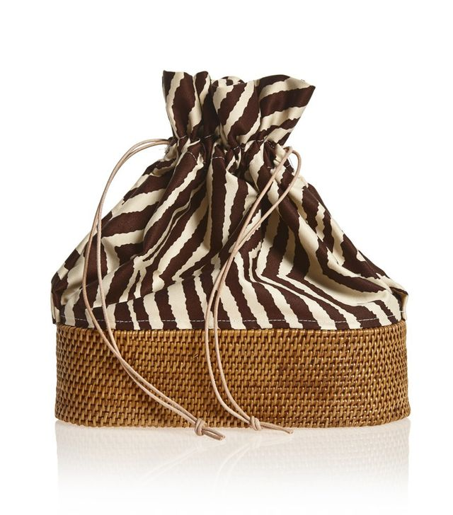 Brother Vellies Nusa Bucket Bag in Zebra