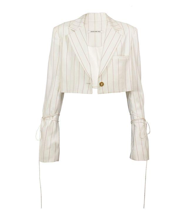 Orseund Iris Box Blazer in Wool Cream