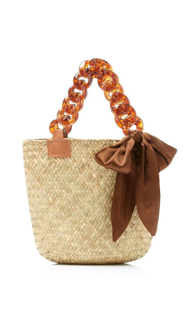 Donni M'O Exclusive Mini Sugar Woven Straw Tote
