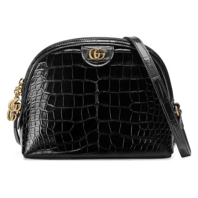 Gucci Ophidia Crocodile Small Shoulder Bag