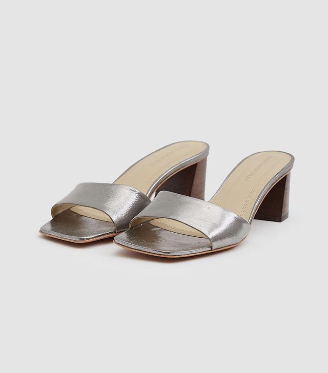 Mari Giudicelli Carmen Metallic Sandals