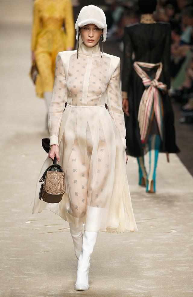 Fendi Fall/Winter 2019 Runway - Milan Fashion Week