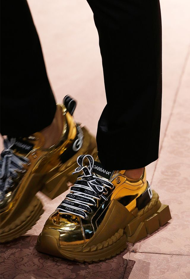 shoe trends 2019 - dolce and gabbana