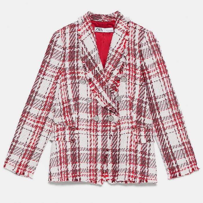 6100cf34e92c41 Spring Jackets Trends 2019  From Boxy Blazers to Bouclé