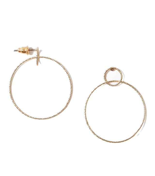 Marks & Spencer Circle Drop Earrings