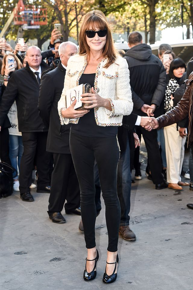 French style over 40: Carla Bruni