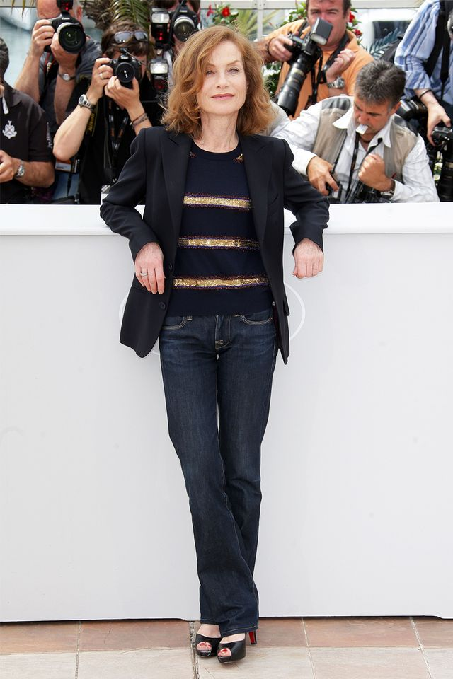 French style over 40: Isabelle Huppert