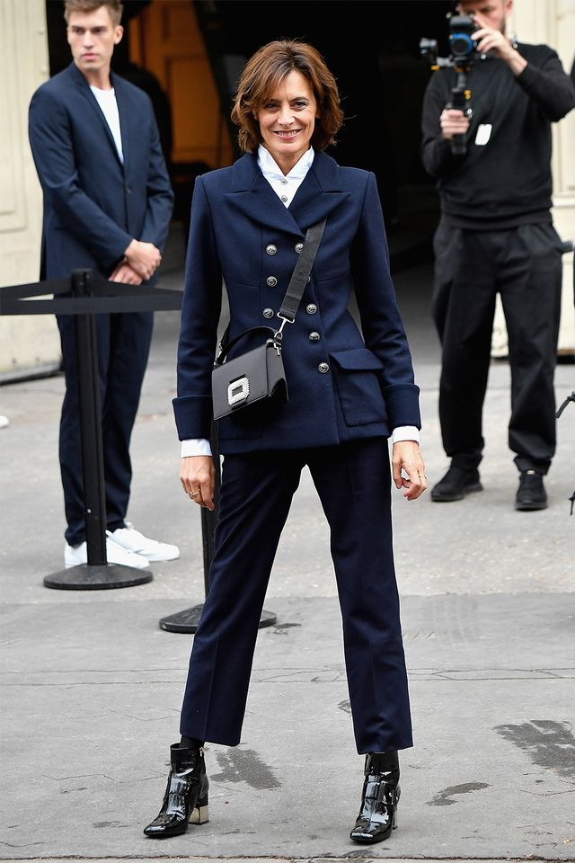 French style over 40: Inès de la Fressange