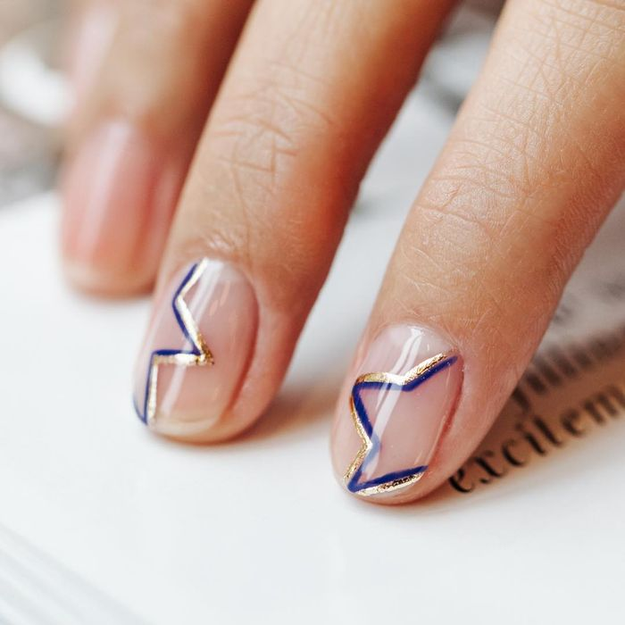 Negative Space Manicures Are the New Nude Nails   Who What Wear UK