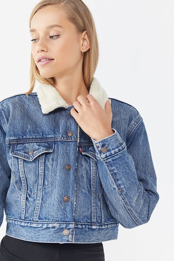 233a77aec 11 Cropped Denim Jackets That Are Straight From the '90s | Who What Wear