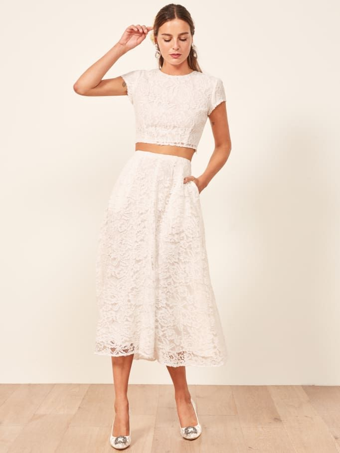 Casual Wedding Dress.20 Casual Wedding Dresses For The Low Key Bride Who What Wear