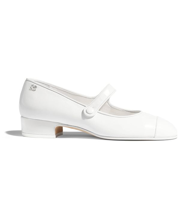 Chanel Calfskin Mary Janes