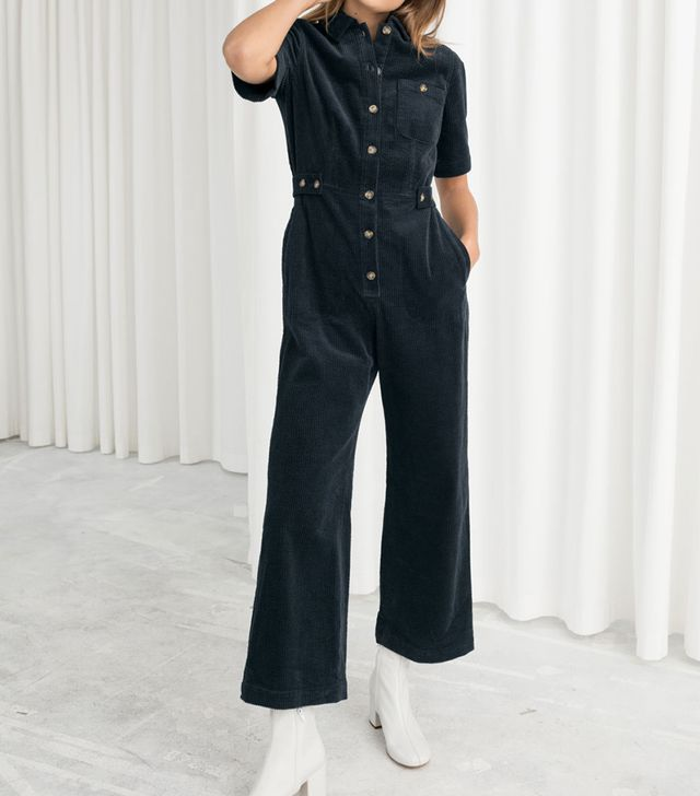 & Other Stories Corduroy Boilersuit