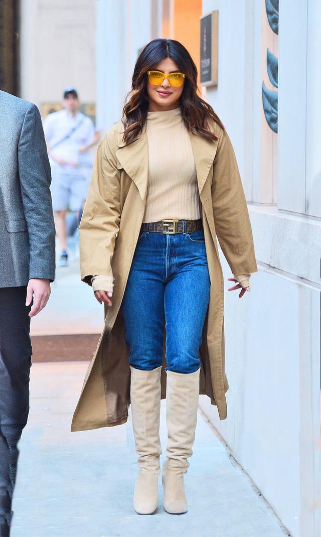 Priyanka Chopra in tall boots