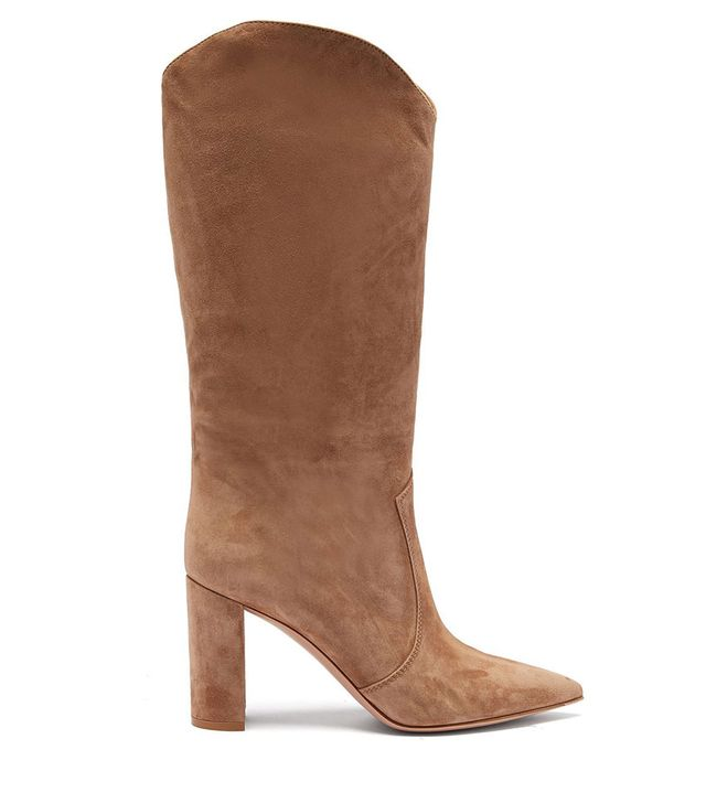 Gianvito Rossi Slouchy 85 Knee-High Boots