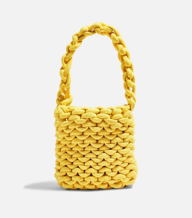 Topshop Seattle Rope Tote Bag