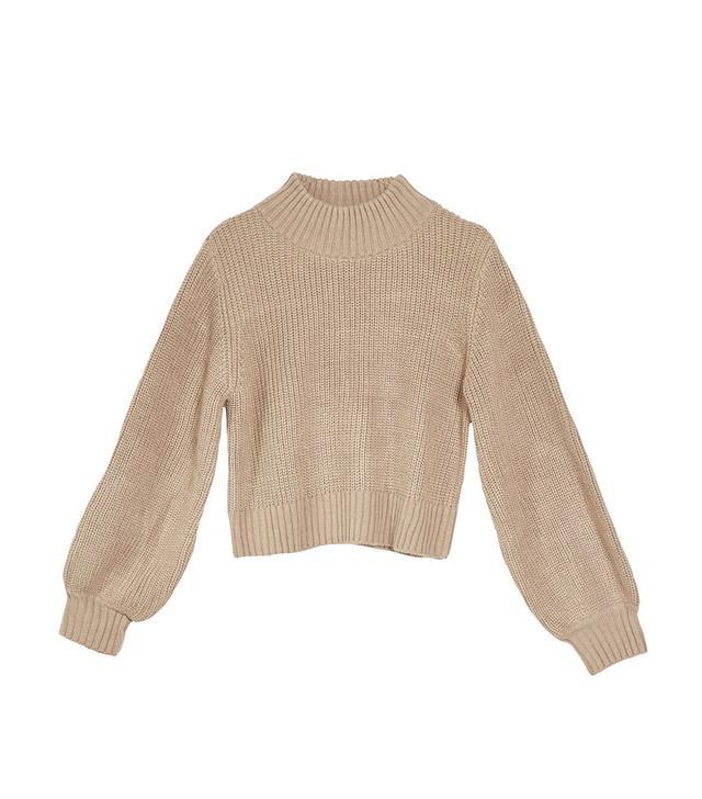 Jeu Illimité Margo Bubble Knit Sweater